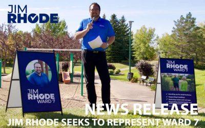 Jim Rhode seeks to represent Ward 7
