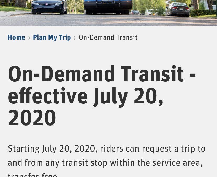 Is Bus Rapid Transit Right for Saskatoon?